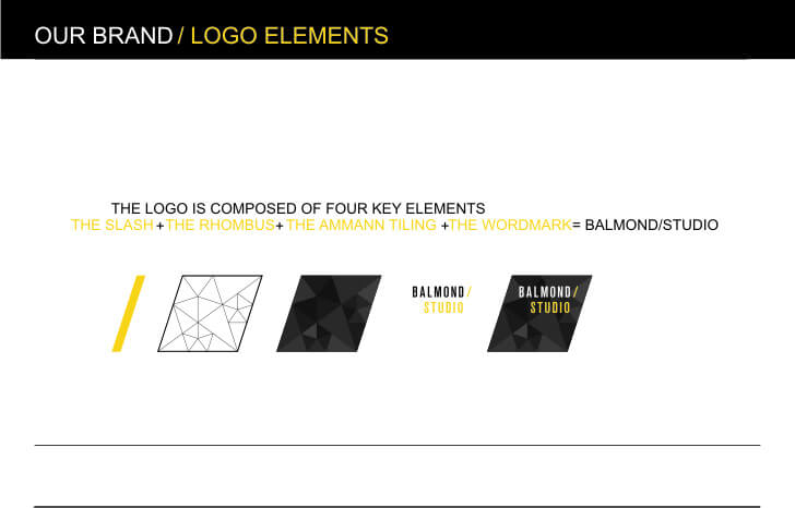 logo elements of Balmond Studio