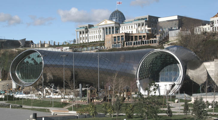 musical theatre and exhibition hall in Tbilisi