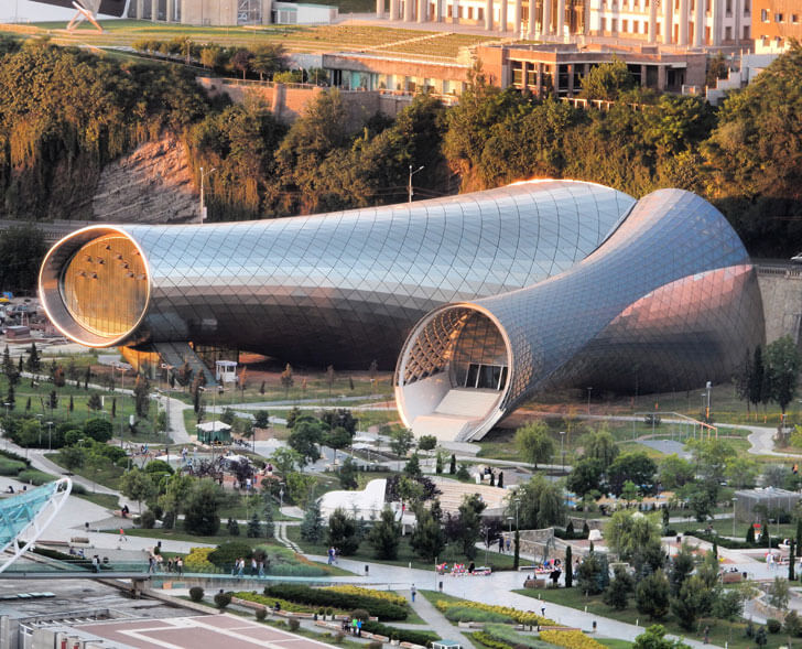 music theatre by Fuksas