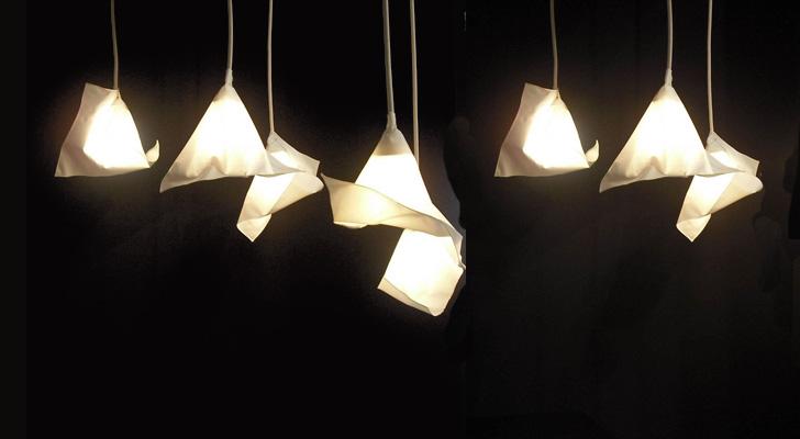 kukka's handmade Felucca lampshades