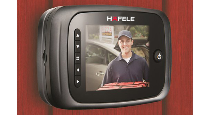 Hafele's digital door viewer