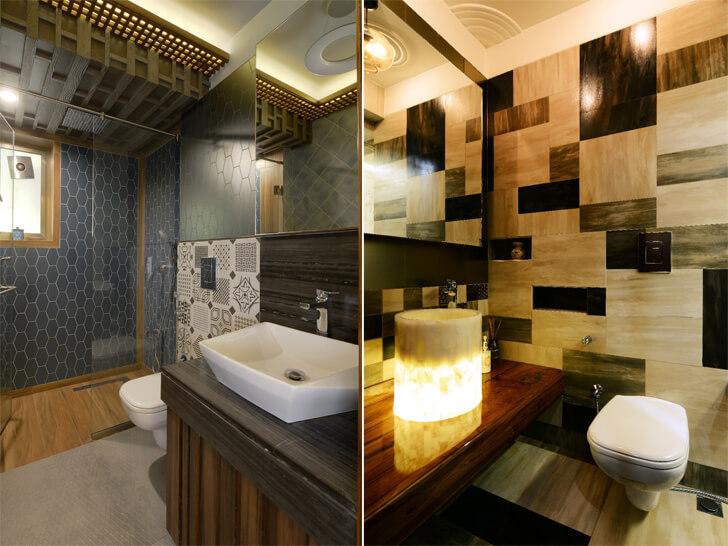 fashionable bathrooms