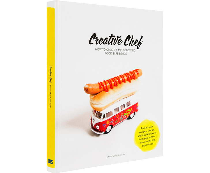 creative chef book cover