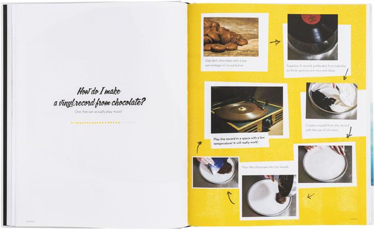 vinyl record chocolate recipe