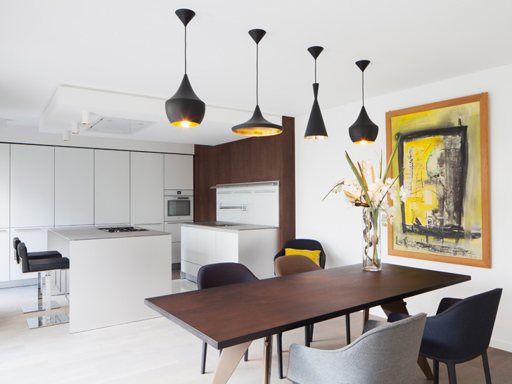 dining with kitchen - open plan