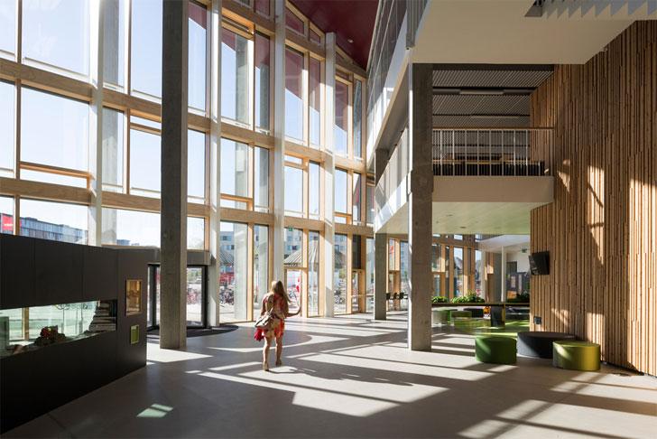 school building interior