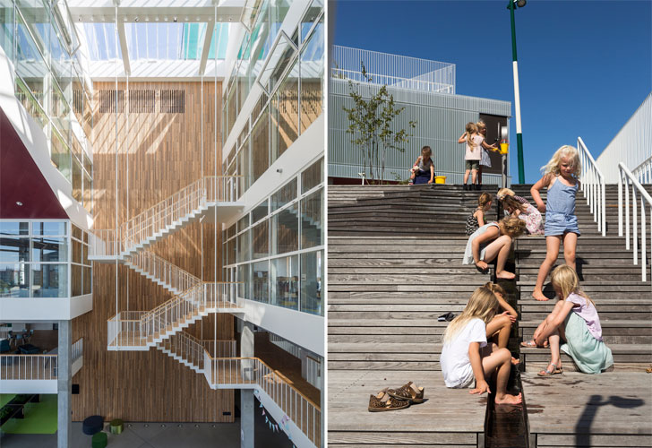 Stairs as social spaces