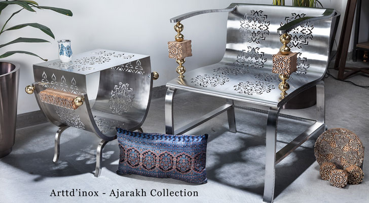 Arttd'inox Ajarakh collection