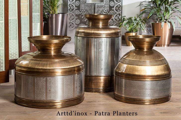 Arttd'inox patra planters
