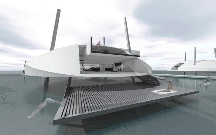 luxury living - tidal house