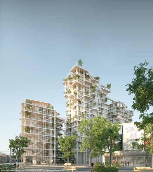 world's tallest timber residential tower