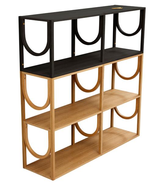 Arch bookshelf - Note Design Studio