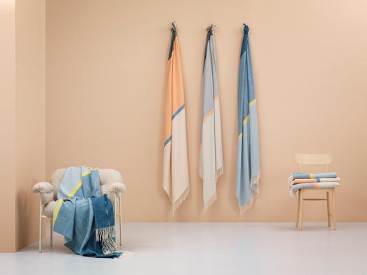 Kloster range of blankets - Note Design Studio