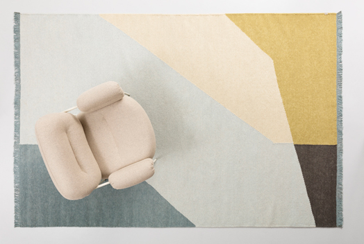 Land rug from Note Design Studio