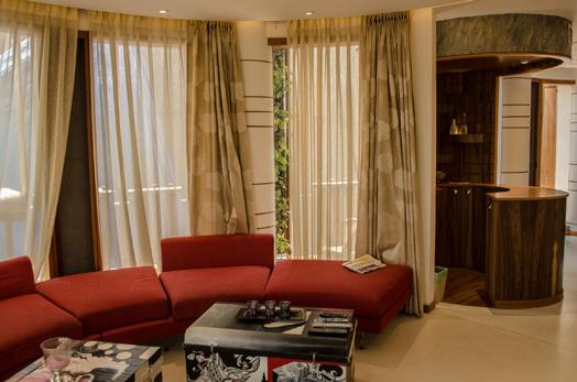 round living area