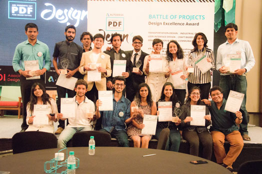 The intriguing and exciting Battle of Projects had 20 students awarded for good design