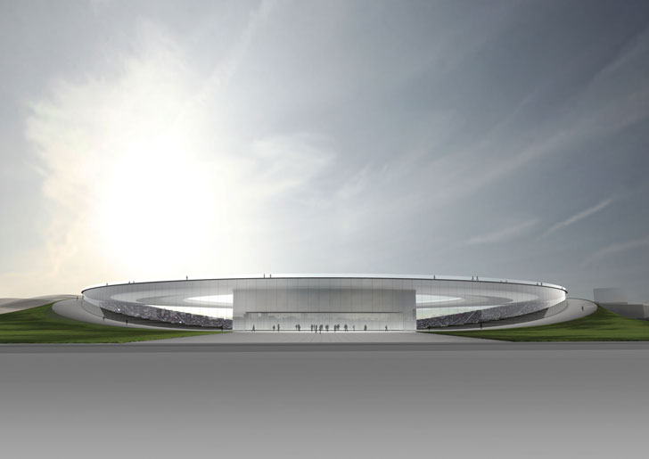 Tokujin Yoshioka's concept for 2020 Tokyo Olympics stadium