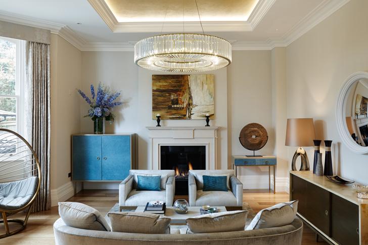 plush living room
