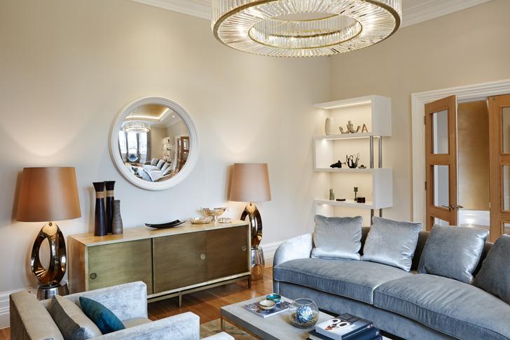 plush interiors