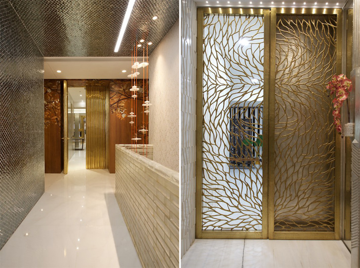 India Art N Design Inditerrain Plated With Metallic Hues