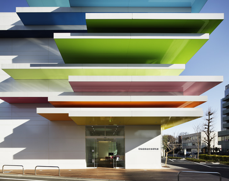colourful facade