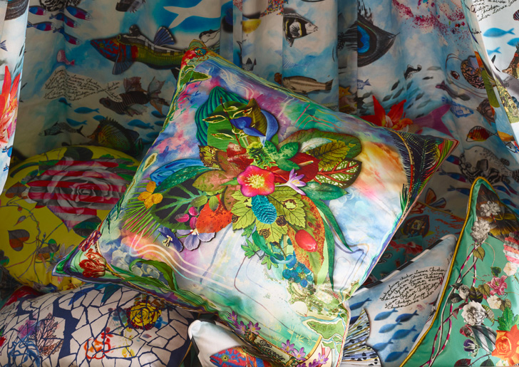 floral-pillow covers-Maison-Christian-Lacroix