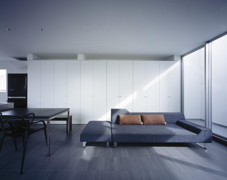 earthy daylight in living room