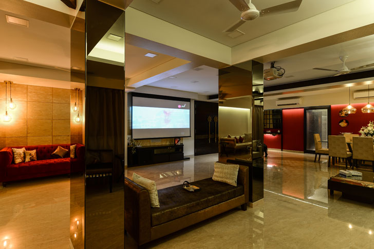 expansive home theatre
