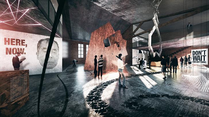Aarhus School of Architecture, Denmark - interiors