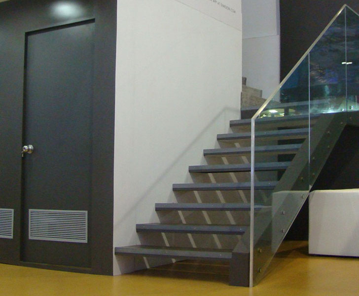 staircase in exhibition pavillion