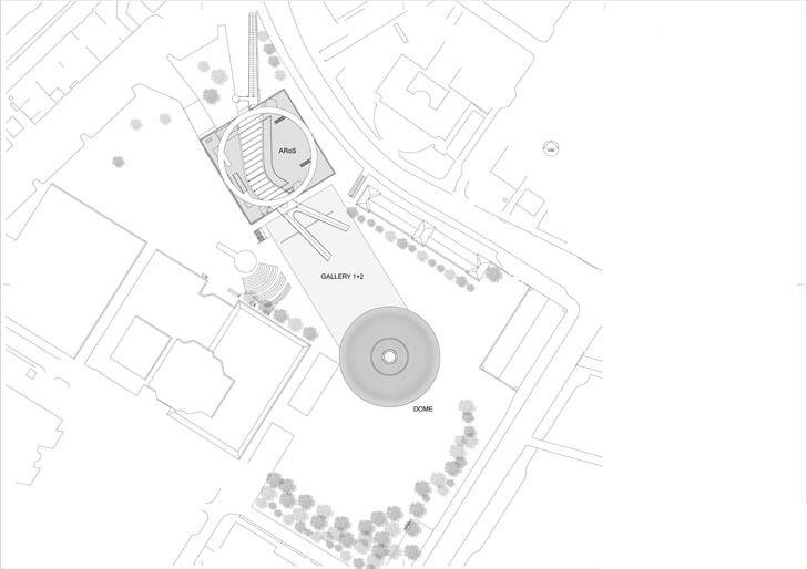 ARoS site plan