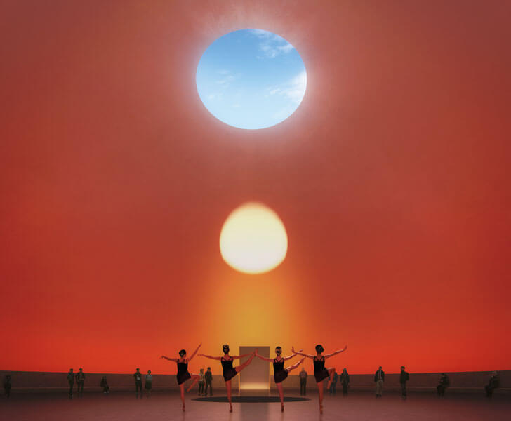 James Turell's Rising Sun