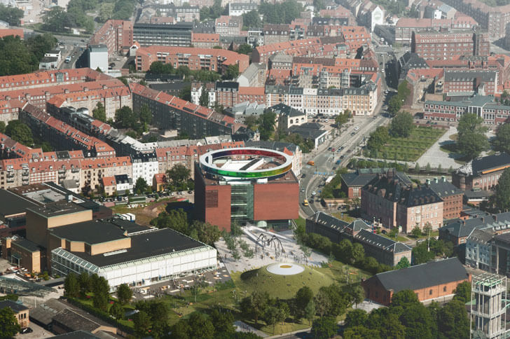 arial view of ARoS