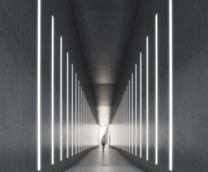 corridor at ARoS
