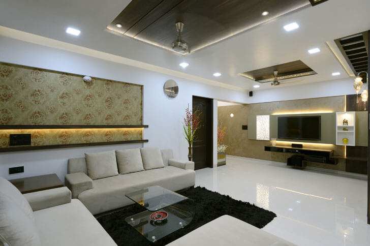 """residential interior cluster one indiaartndesign"""