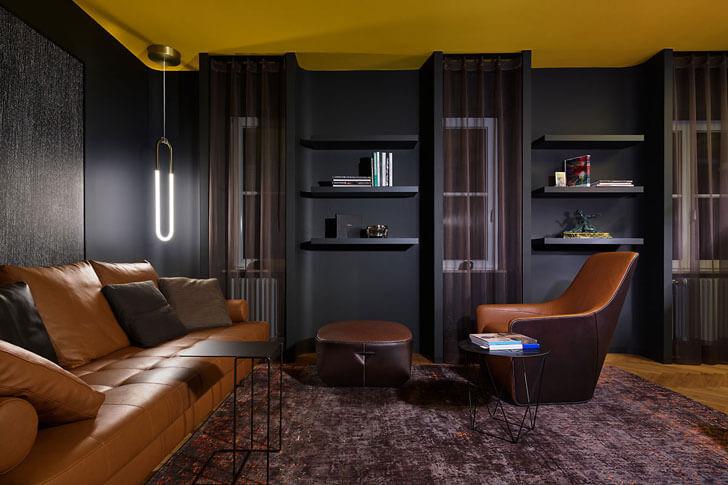 """family room House Benz Ippolito Fleitz Group indiaartndesign"""