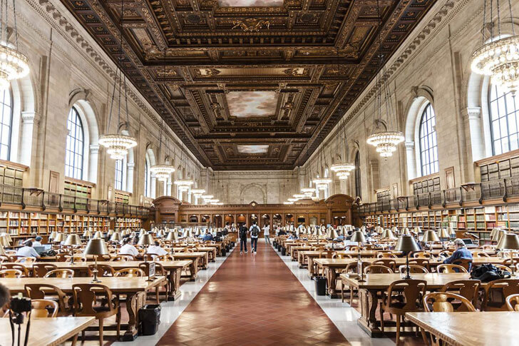 """NYPL Mid-Manhattan Library indiaartndesign"""