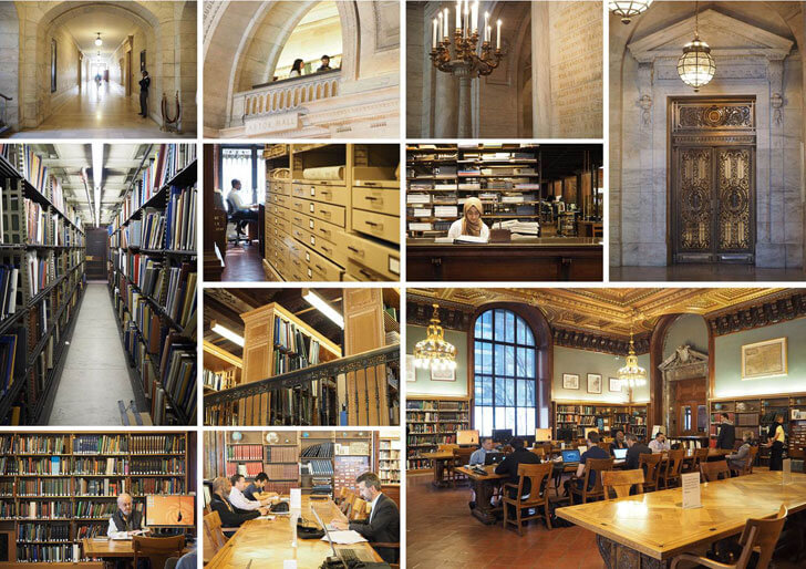 """NYPL Mid-Manhattan Library prior to renovation indiaartndesign"""