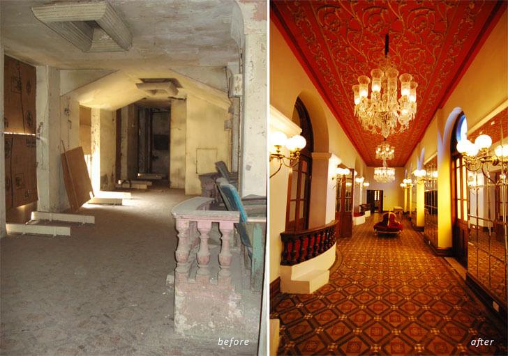 """""""Corridor Opera House Mumbai Abha Lambah Associates indiaartndesign"""""""