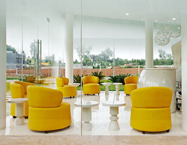 """yellow chairs indiaartndesign"""