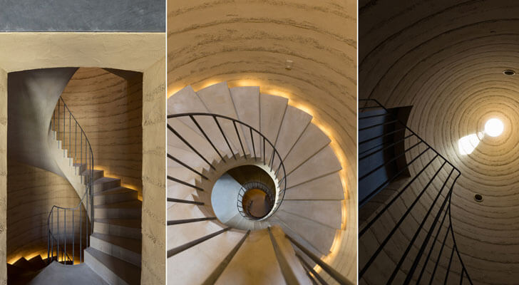 """Hasshoden staircase love architecture indiaartndesign"""