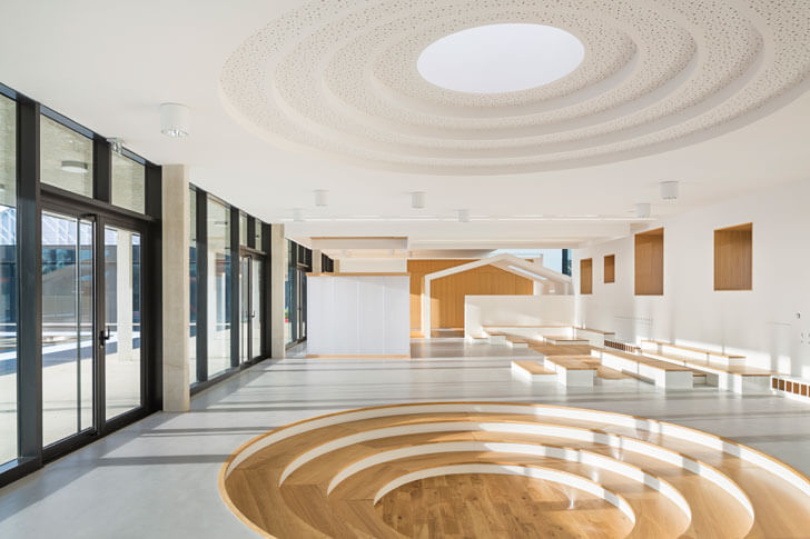 interactive interiors at Trivaux-Garenne campus