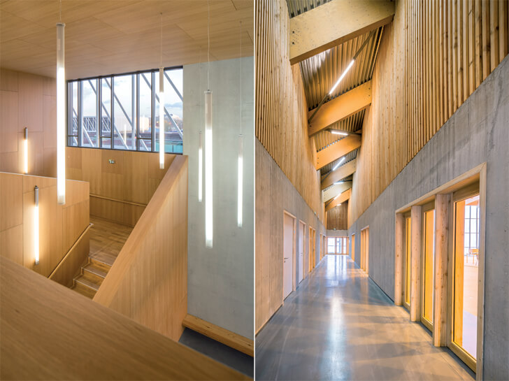 transitional spaces at Trivaux-Garenne campus
