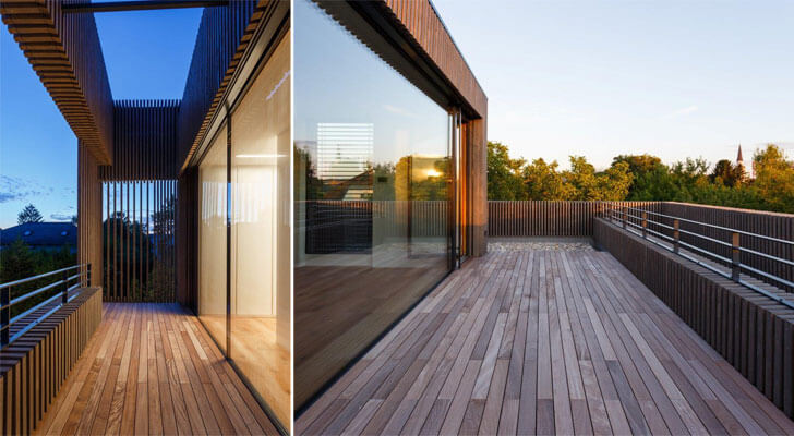 deck with surrounding view