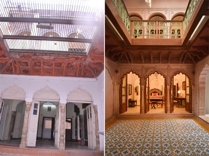 courtyard-haveli-dharampura