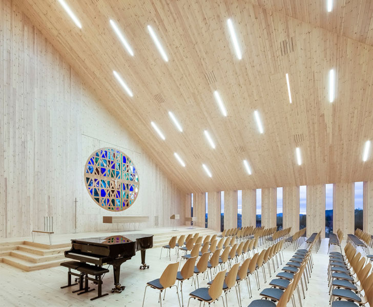 """church seating Reiulf Ramstad Arkitekter indiaartndesign"""