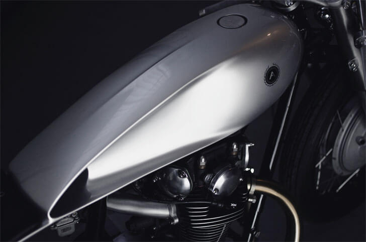 fuel tank type 6 motorbike