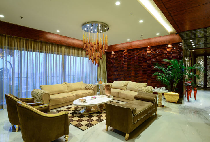 """living room textured backdrop rupande shah indiaartndesign"""