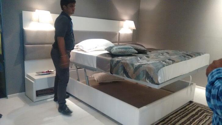 modern convenient bed