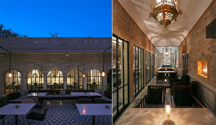 Baradari - courtyard fine-dine